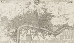 This actual survey of London, Westminster, Southwark is humbly dedicated to ye Ld Mayor & court of Aldermen
